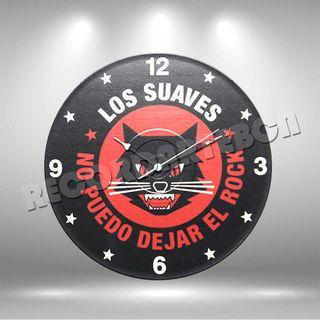 Reloj de Disco LP de Los Suaves