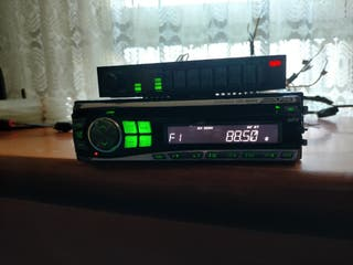 radio CD Alpine + ecualizador