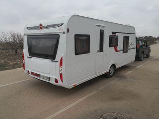 Burstner Averso 570 TS Caravana