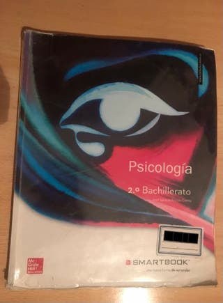 Libro Psicología 2º de bachillerato.
