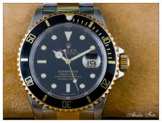 Rolex Submariner Date en acero y oro.
