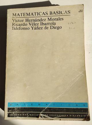 Libro Matematicas Basicas, UNED.
