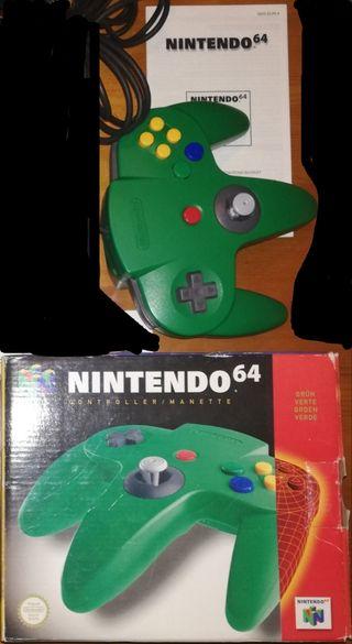 Mando con caja N64