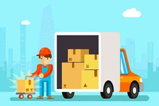 Portes y mudanzas y transportes