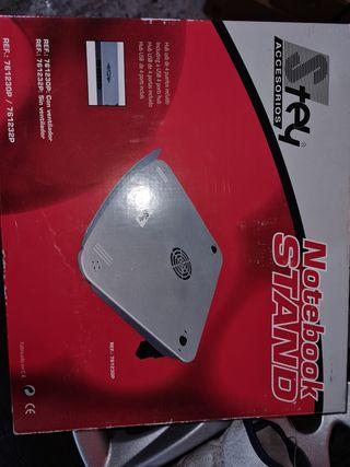 soporte portátil con ventilador
