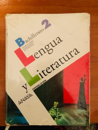 Libro Lengua Anaya 2bach