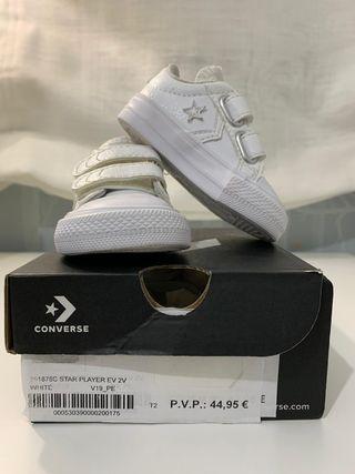 Zapatillas Converse bebé T18