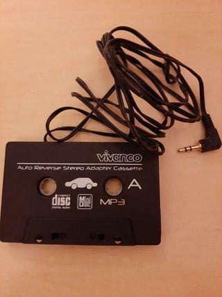 adaptador cassette mp3