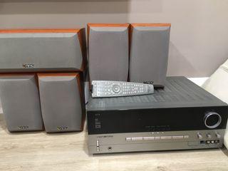 Pack de Amplificador HK + Altavoces Infinity Primu