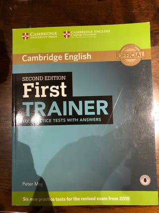 First trainer first edition