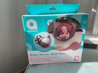 Espejo vigilancia bebé coche