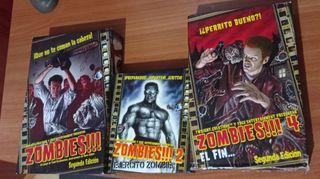 Vendo/Cambio: Zombies!!! + Zombies 2 + Zombies 4