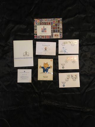 Sellos olimpiadas 92 Cobi + postal