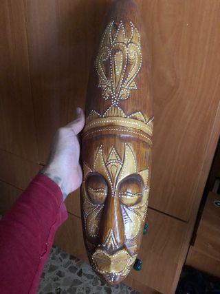 Máscaras de madera . Decorativas
