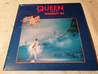 Lp vinilo doble Queen Live at Wembley 86