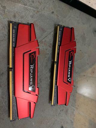 2x8Gb RAM G.Skill Ripjaws V Red DDR4