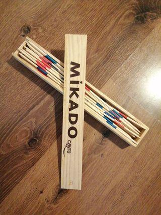 Mikado en madera 41 palitos