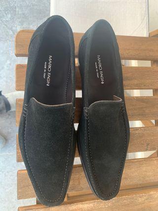 Zapatos caballero ante negro
