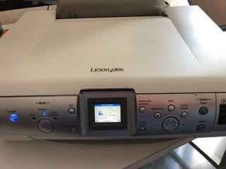 Impresora escaner Lexmark