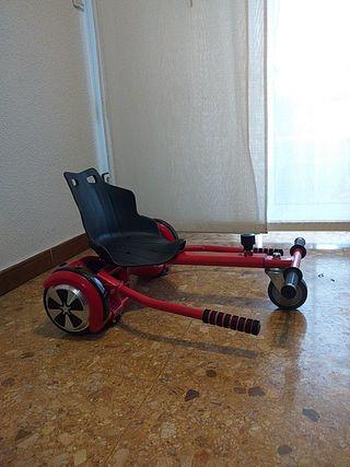 hoverboard con silla incorporada