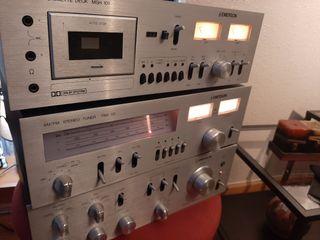 Amplificador Hifi y Sintonizador