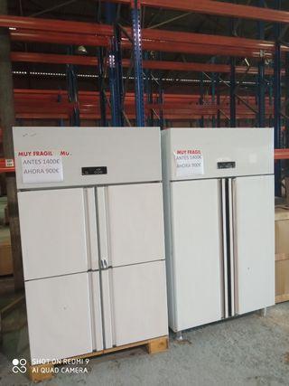 armario refrigeración puerta abatible