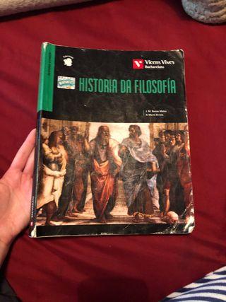 Libro Historia da Filosofia 2 Bachillerato