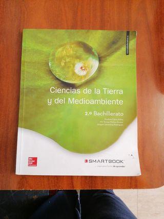 Libro Ciencias de la tierra y del Medioambiente.