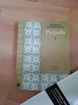 libro lengua catalana primero batxillerato