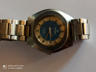 reloj vintage automático Mentdor 25 rubis