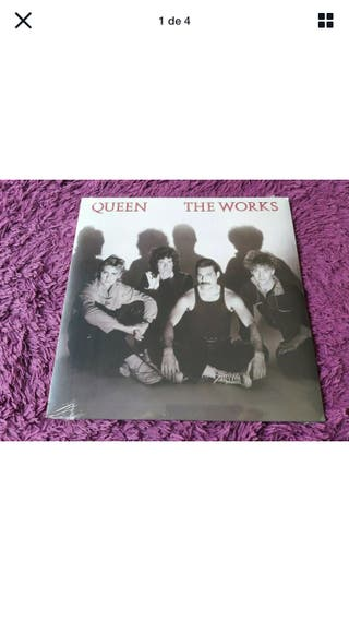 Vinilo Queen The Works (Nuevo)