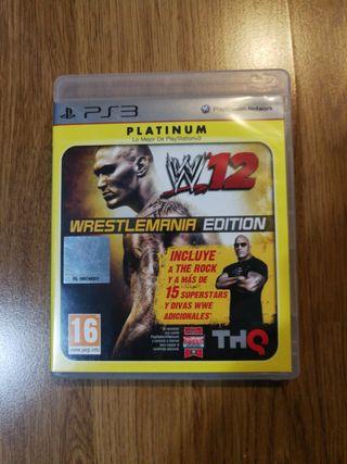 WWE 12 PS3 (Wrestlemania Edition)