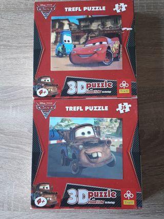 Puzzle 3D Cars 2 (TREFL)
