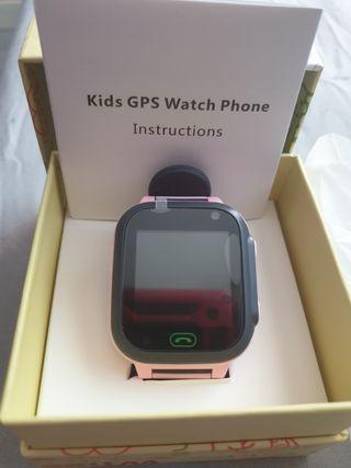 Smartwatch Phone niños con localizador rastreo LBS