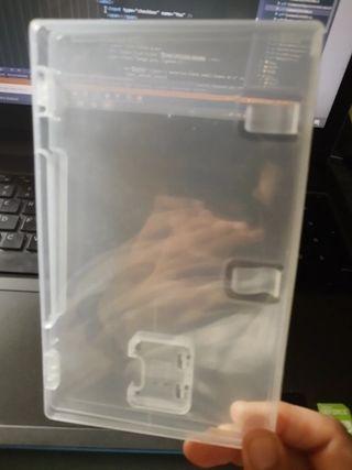 Caja juegos Nintendo switch