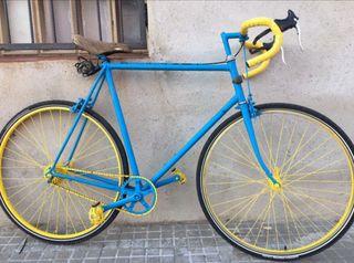 Bicicleta carretera cambio por patinete