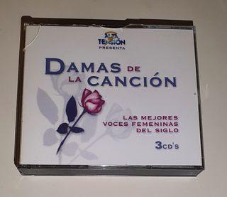 VARIOS / 3CD 1999 SPAIN / DAMAS DE LA CANCIÓN