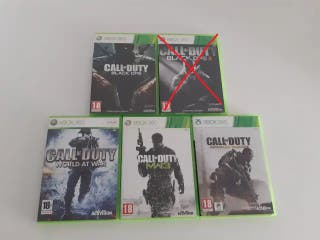 Pack Saga Call of Duty Xbox 360