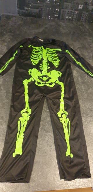 disfraz esquelto halloween