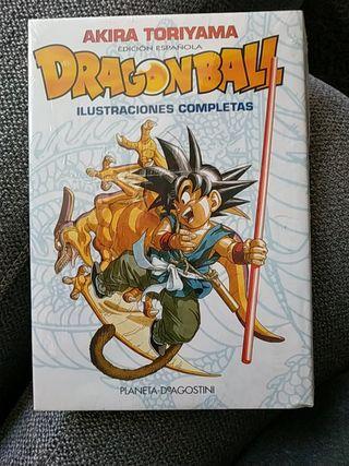 dragon ball ilustraciones completas