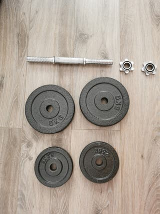 pesas (mancuerna) 15 kg
