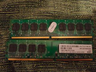 Memoria RAM, 2GB DDR2 667 mhz