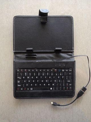 """Funda/Teclado Tablet 7"""""""
