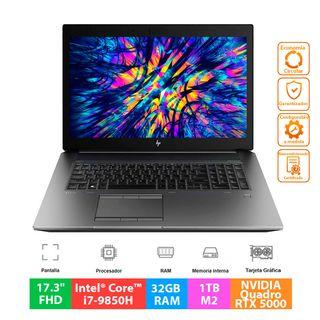HP ZBook 17 G6 - i7 - 32GB - 1TB - Quadro RTX 5000