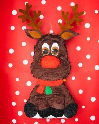 """Piñata Reno Rudolf """"Tamaño M"""""""