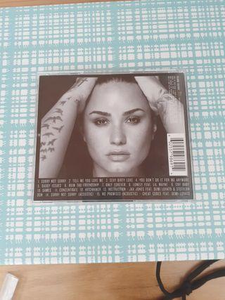 CD Demi Lovato Tell me you love me