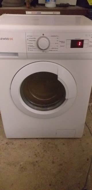 lavadora Daewoo clase A+A 6 kg