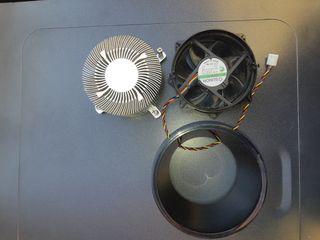disipador Pentium y ventilador disipador