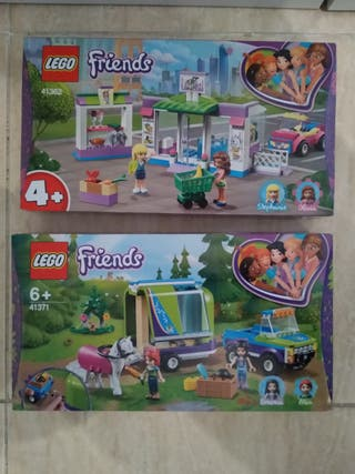 cajas lego Friends