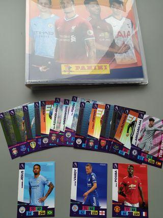 Cards Cromos Adrenalyn Premier League 2020 2021